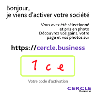 Carte Cercle Business verso