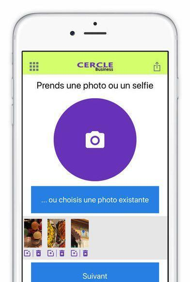 application cercle business 2